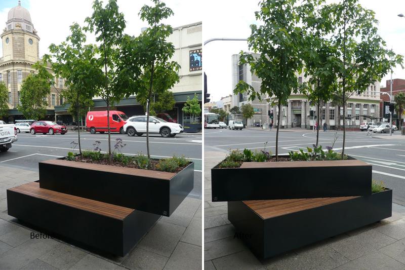 Planter Box Seat Thomas Leggatt